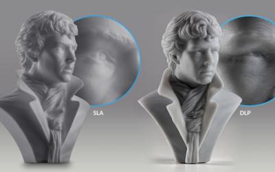 ¿Conoces las diferencias entre las tecnologías de impresión 3D SLA y DLP?